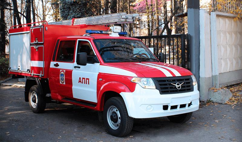 Пожарный УАЗ «Профи»