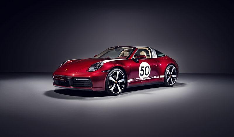 Porsche 911 Targa 4S Heritage Design Editio доступен к заказу