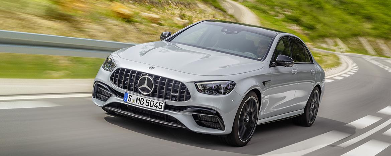Новый седан Mercedes-AMG E 63 4MATIC+