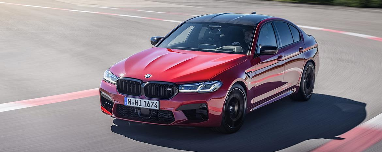 BMW обновила M5 и BMW M5 Competition