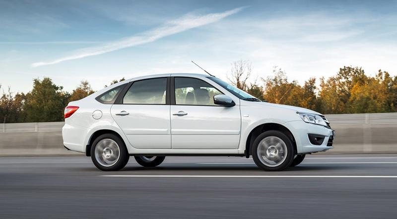 В Тольятти стартовал выпуск лифтбеков LADA Granta Liftback