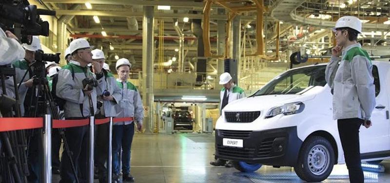 Peugeot:В Калуге запустили производство фургонов Expert