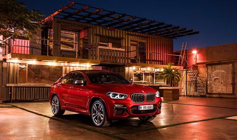 BMW Group Россия объявила розничные цены на новый BMW X4