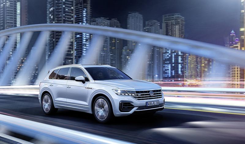 Новый Volkswagen Touareg на мировую премьеру в Китай преодолел маршрут 16.500 км