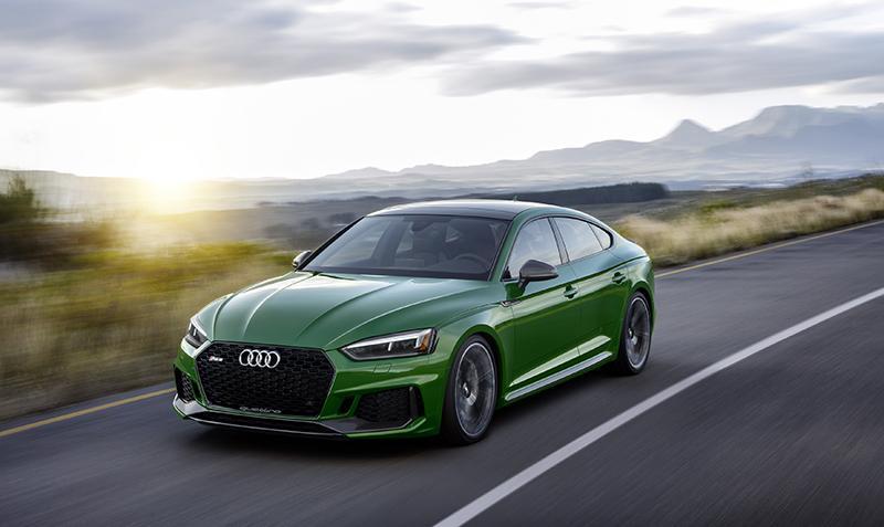 Первый RS5 sportback в истории марки Audi