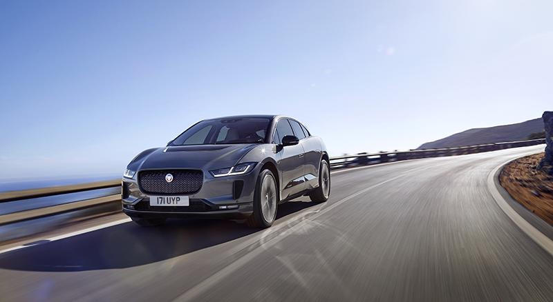 Компания Jaguar Land Rover представляет новый электромобиль Jaguar I-PACE