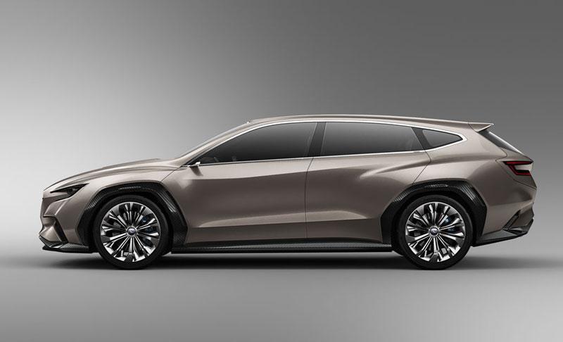 Новости из Женевы: Subaru представил новый концепт спортивного универсала VIZIV1 Tourer Concept