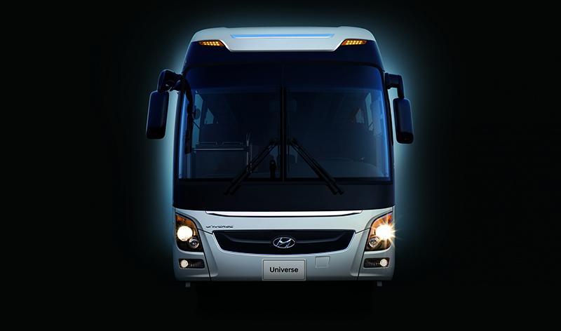 Hyundai:Hyundai подготовила автобусы Hyundai Universe для перевозки на Чемпионате мира по футболу 2018