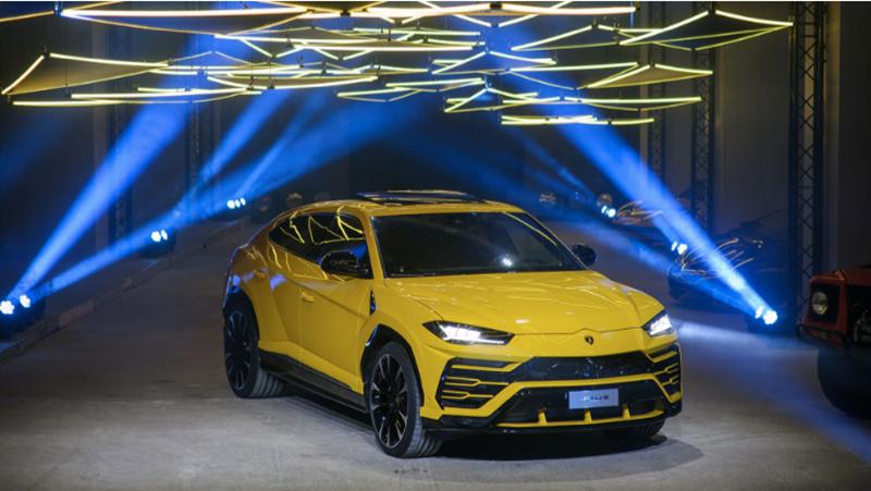 Суперспортивный внедорожник Lamborghini Urus дебютировал в России