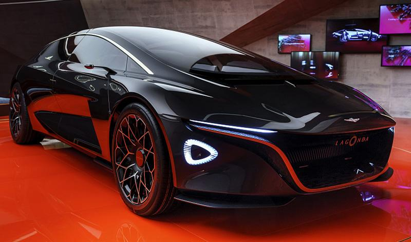 Aston Martin на Женевском автосалоне представил новый  седан Lagonda Visio Concept