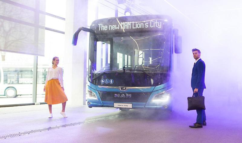 MAN:MAN Truck & Bus AG продемонстрировала модельный ряд транспортных средств и спектр услуг