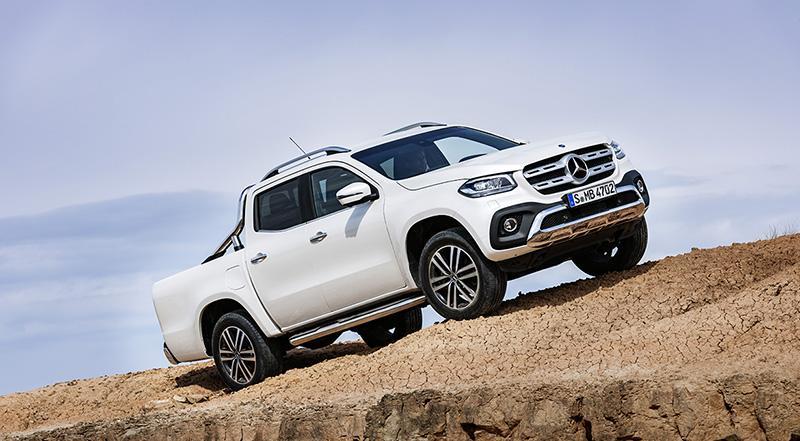 Компания Mercedes-Benz представила на российском рынке автомобиль X - класса