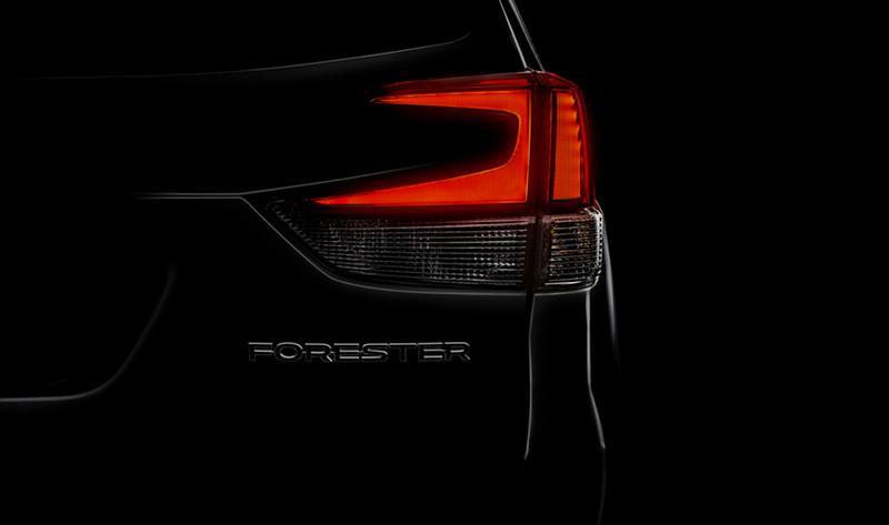 Subaru анонсировала предстоящую мировую премьеру обновлённого Subaru Forester