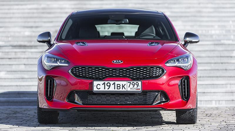 KIA Motors в России запустила старт продажи нового спортивного фастбека KIA Stinger
