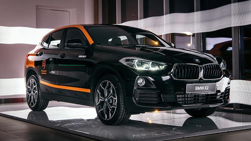 Автомобильный парк каршерингового сервиса YouDrive в Москве пополнит новый BMW X2