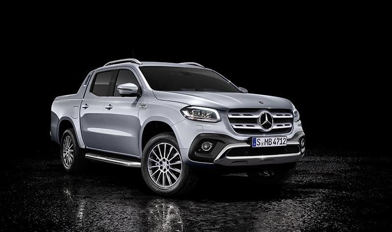 В марте на Женевском автосалоне состоится премьера Mercedes-Benz X-Класса