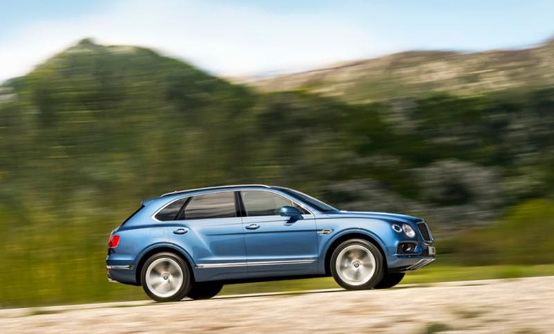 Bentley:Внедорожник Bentley Bentayga Diesel теперь доступен в России