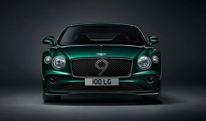 Continental GT Number 9 Edition - их будет всего 100 экземпляров