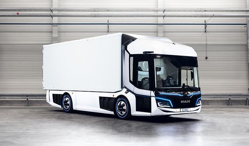 MAN:Городской автобус MAN Lion's City и концептуальный городской грузовик MAN CitE удостоены премии iF Design Awards