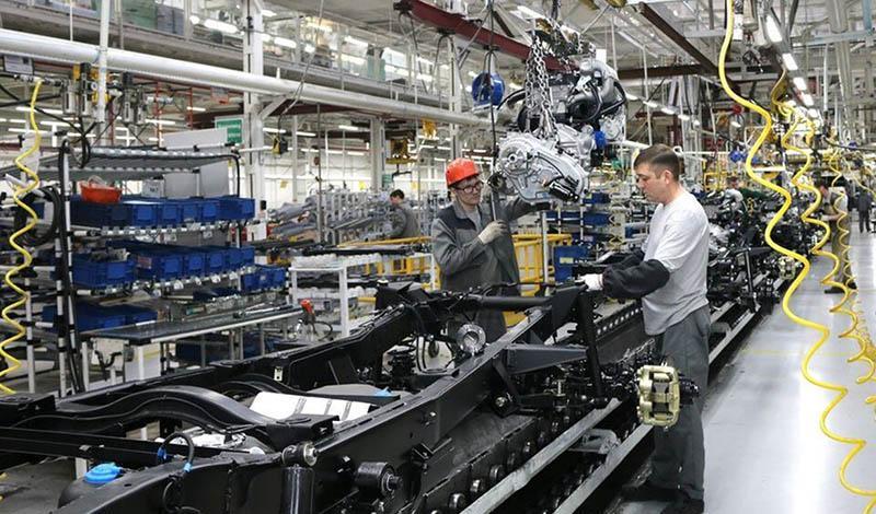 UAZ:УАЗ начал применять новые современные лакокрасочные материалы в окраске рам