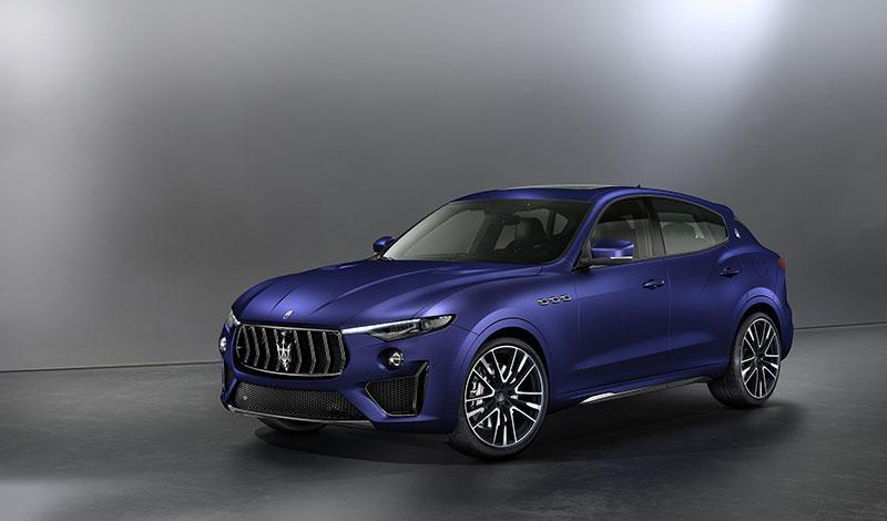 Женевский автосалон 2019:  Maserati показал Levante Trofeo V8, ограниченная серия из 100 автомобилей