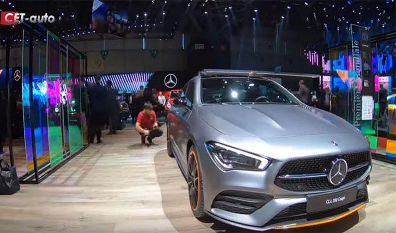 Женевский автосалон 2019: видео обзор Mercedes CLA 2019 года