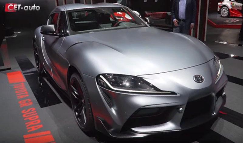 Женевский автосалон 2019: видео обзор Toyota GR Supra 2019 года