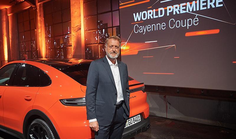 Мировая премьера Cayenne Coupé расширила модельный ряд Porsche