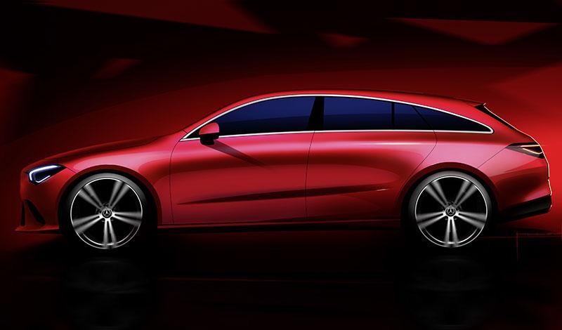 Новый Mercedes-Benz CLA Shooting Brake появится на рынке Европы уже в сентябре