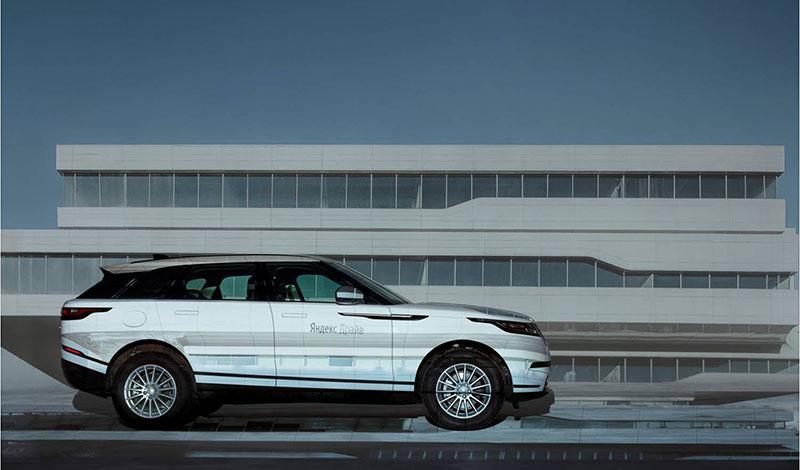 """Range Rover Velar пополнил парк """"Яндекс.Драйв"""""""