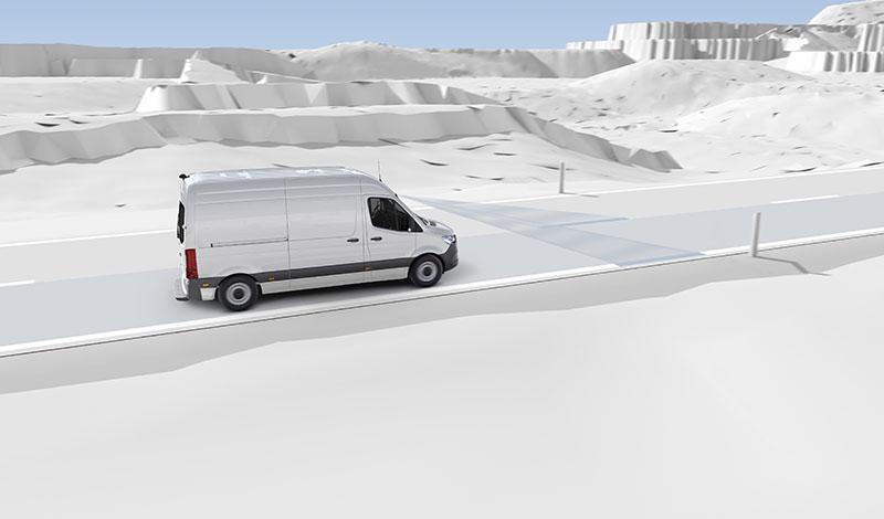 Системы помощи нового Mercedes-Benz Sprinter для эффективной работы водителя
