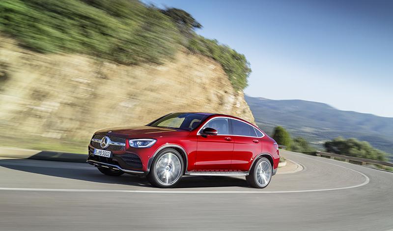 Mercedes представил купе GLC