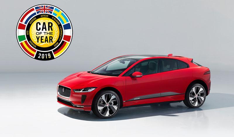 Jaguar I-PACE стал победителем в номинации «Автомобиль года»