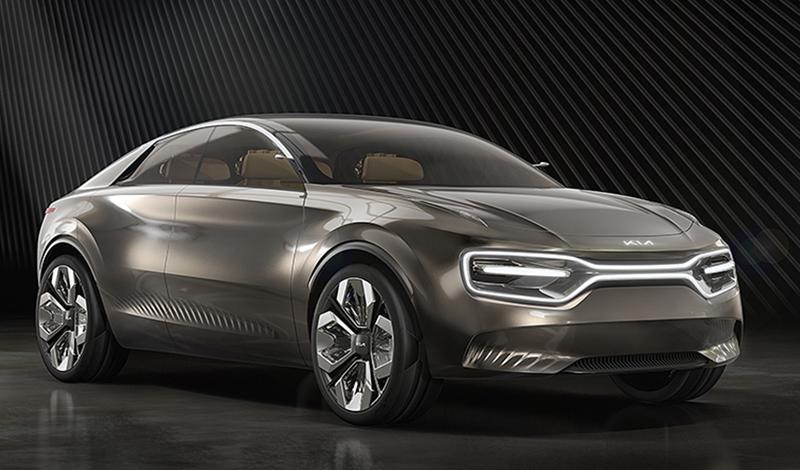 Женевский автосалон 2019: КИА представила концепт электромобиля Imagine