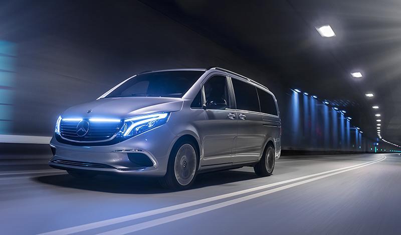 Женевский автосалон 2019: представлен электрический концепт премиум класса EQV от Mercedes-Benz