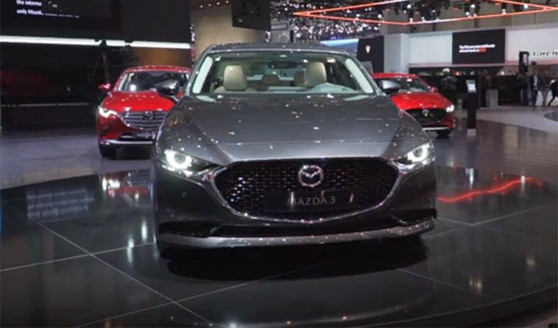 Женевский автосалон 2019: видео обзор Mazda3 cедан 2019 года
