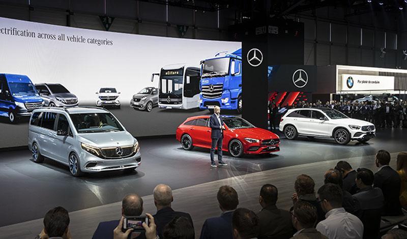 Женевский автосалон 2019: новинки Mercedes-Benz