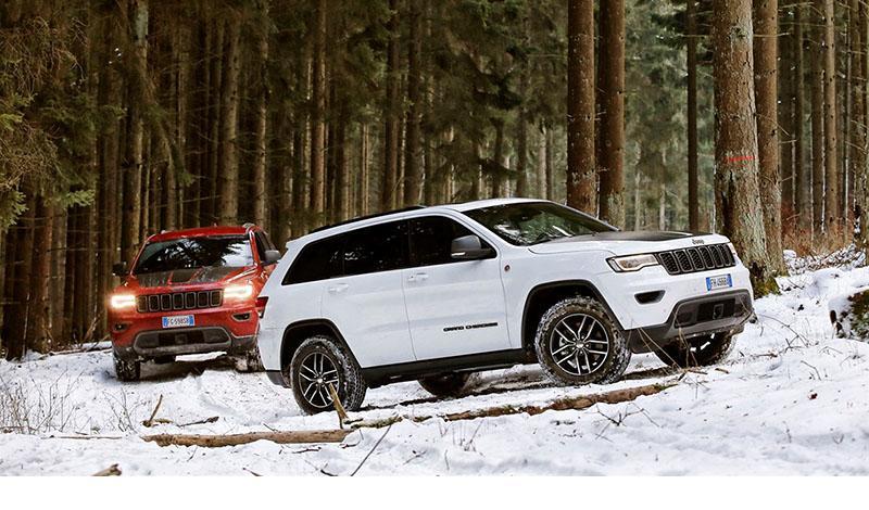 На Женевском автосалоне 2019 прошла презентация гибридных Jeep Renegade и Compass