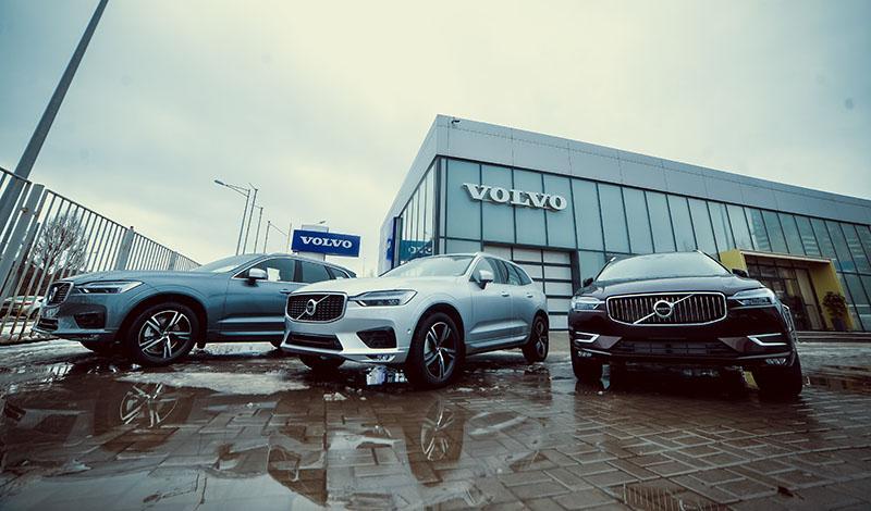 Новый дилерский центр Volvo Car Самара