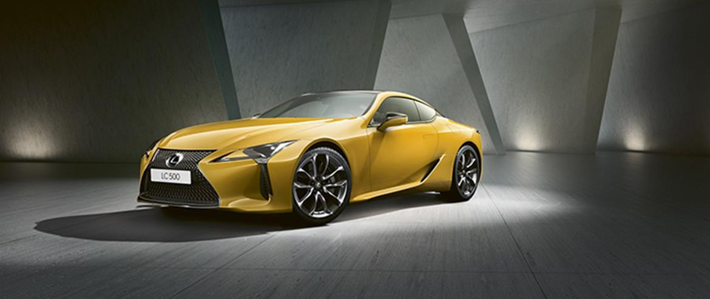 Новая версия флагманского купе Lexus LC Yellow Edition доступна в России по цене 8 285 000 рублей