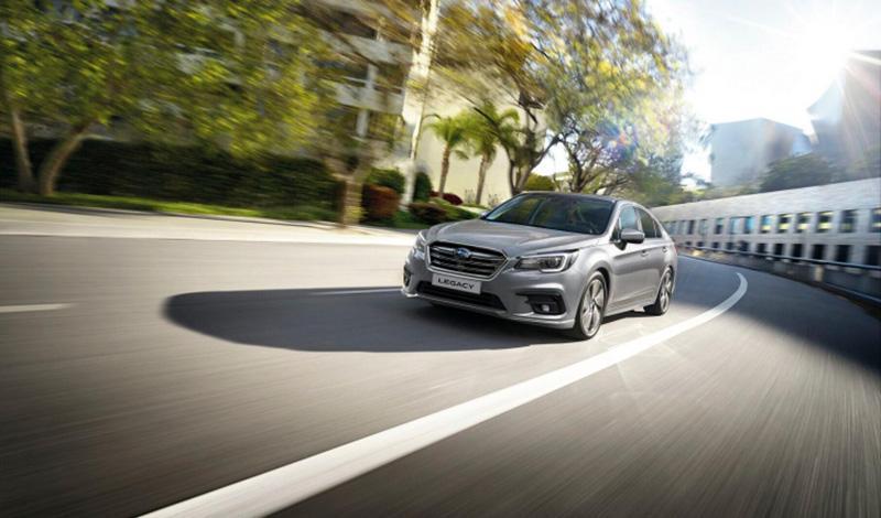 Прием заказов на Subaru Legacy 2019 модельного года открыт