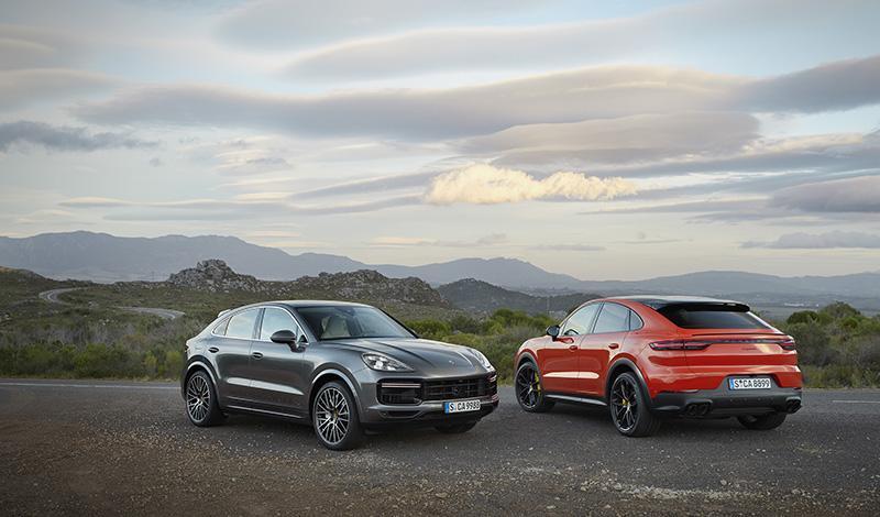 Cayenne Coupé - неожиданная премьера от Porsche