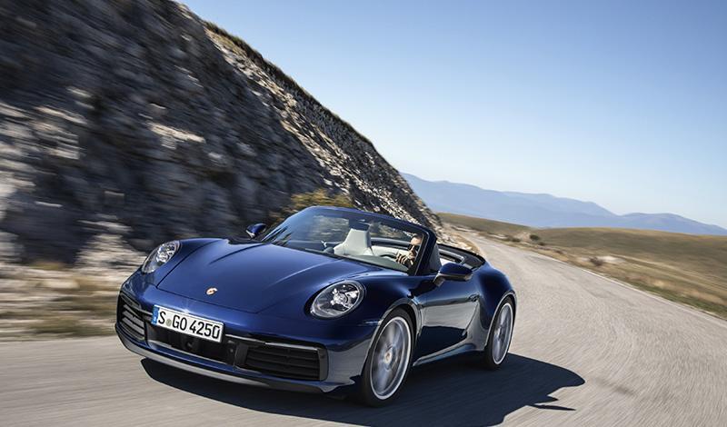 Женевский автосалон 2019: новинки от Porsche