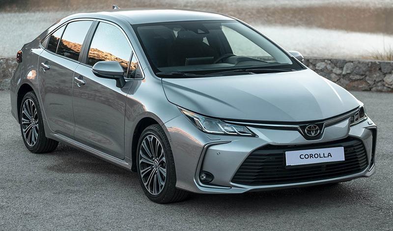 Новая Corolla уже в салонах официальных дилеров