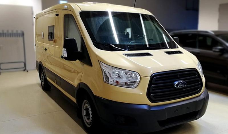 Ford:Ford Transit поможет российским инкассаторам с доступом на подземные парковки