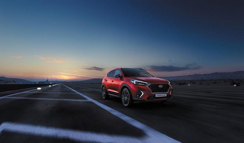 Hyundai начал приём заказов на Tucson N Line 2020