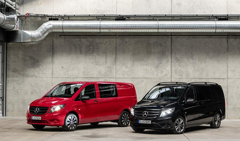 Mercedes рассекретил рестайлинговый Vito 2020