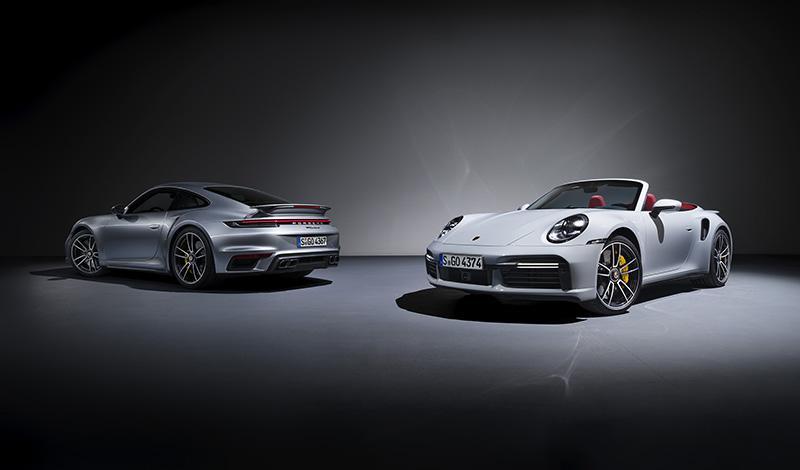 Porsche представляет новый 911 Turbo S в версиях Coupé и Cabriolet