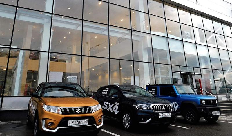В городе Мытищи, Ярославское шоссе, вл. 2В, стр. 1, открылся новый дилерский центр Suzuki