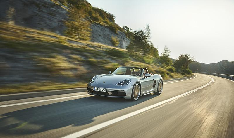 Вышел юбилейный  Porsche Boxster 25 лет